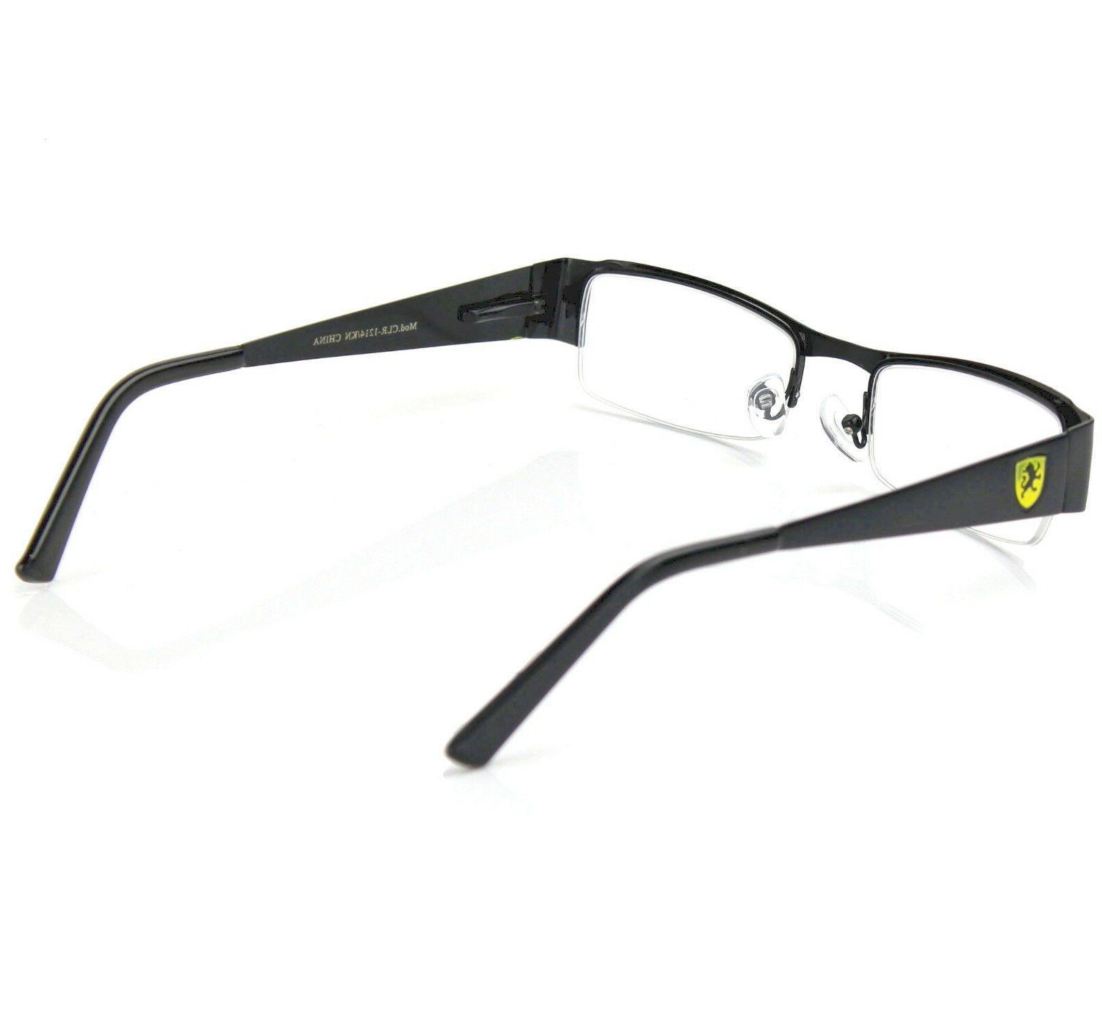 Khan Mens Women Fake Rectangular Glasses Fashion Frame