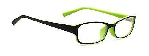 kids retro rectangle clear lens glasses