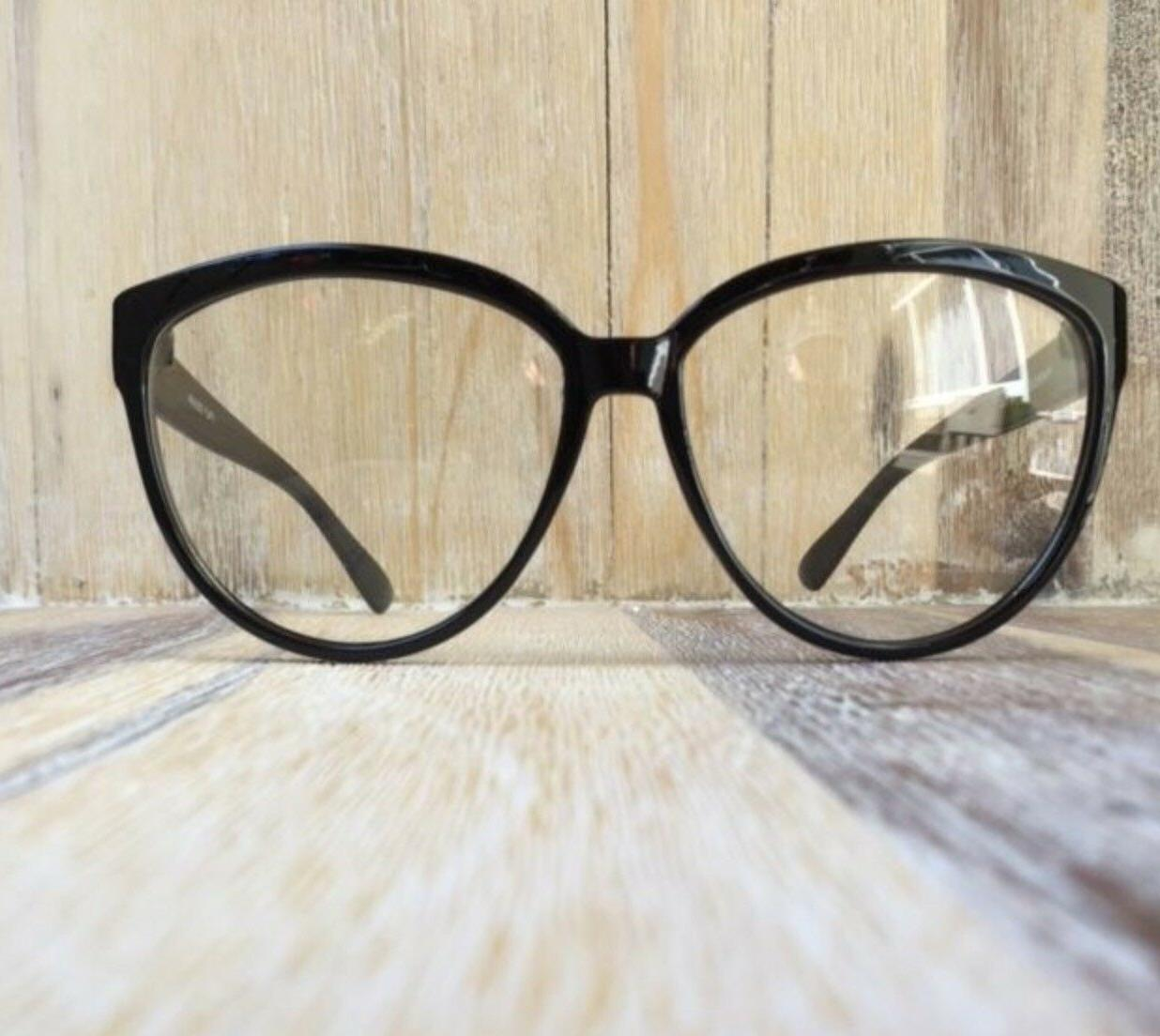 Large Sexy Cat Glasses Lens Look Fashion Frames L