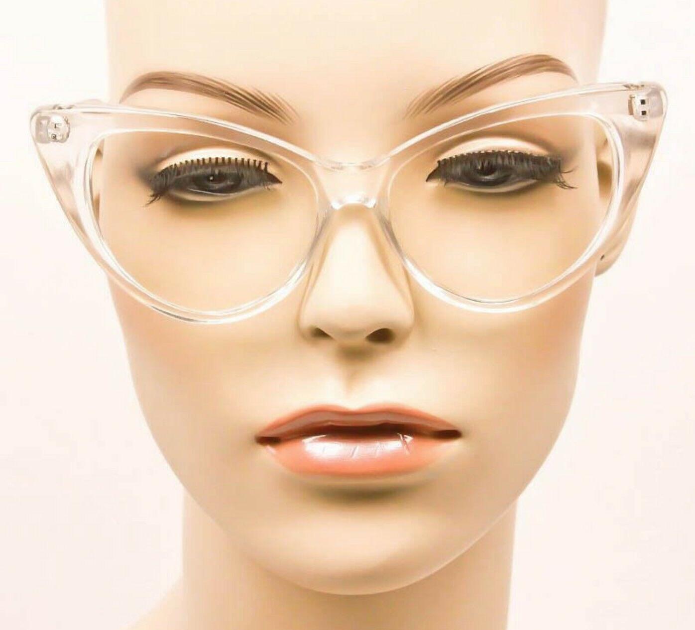 Large Eye Nikita PinUp Clear Lens Frames