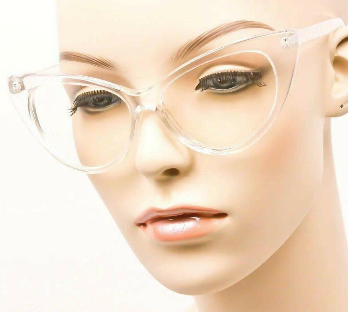 Large Nikita PinUp Clear Lens Frames