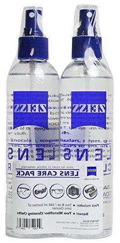 Zeiss Lens Care Pack - 2 - 8 Ounce Bottles of Lens Cleaner,