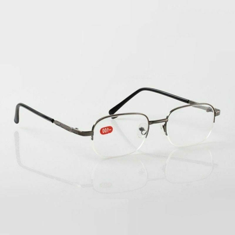 Men And Women Myopia Nearsighted Eyeglasses Clear Lens Wear
