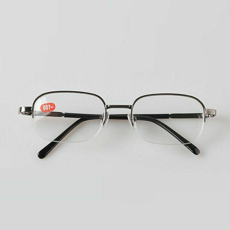 Men And Women Myopia Nearsighted Spectacles Frame Clear Lens