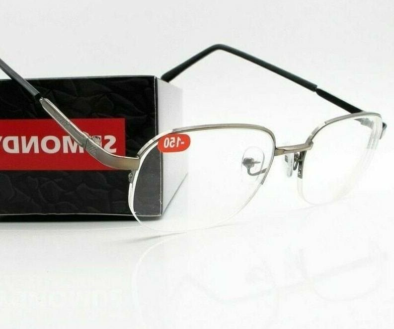 men and women myopia nearsighted eyeglasses spectacles