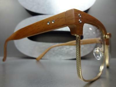 Men Classy Luxury Exotic GLASSES Wooden Frame