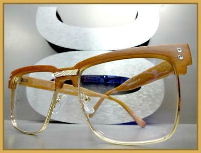 Men Classy Exotic Clear Lens GLASSES Frame
