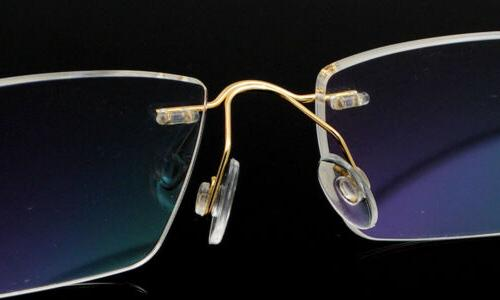 Men's Flexible Frame Eyewear β-Titanium Rimless able