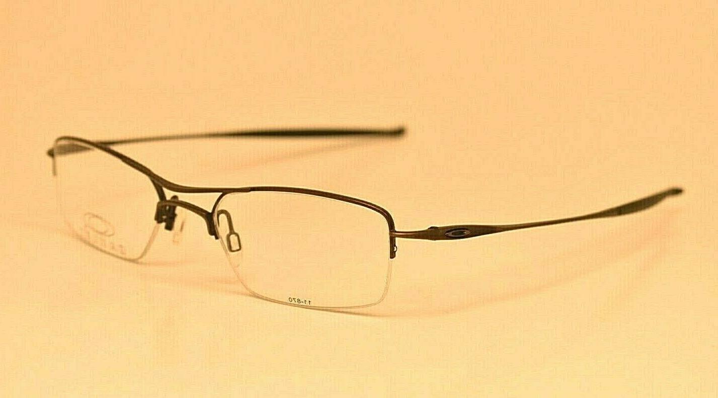 Men's Oakley Gray Rx Frames Eyeglasses Frame