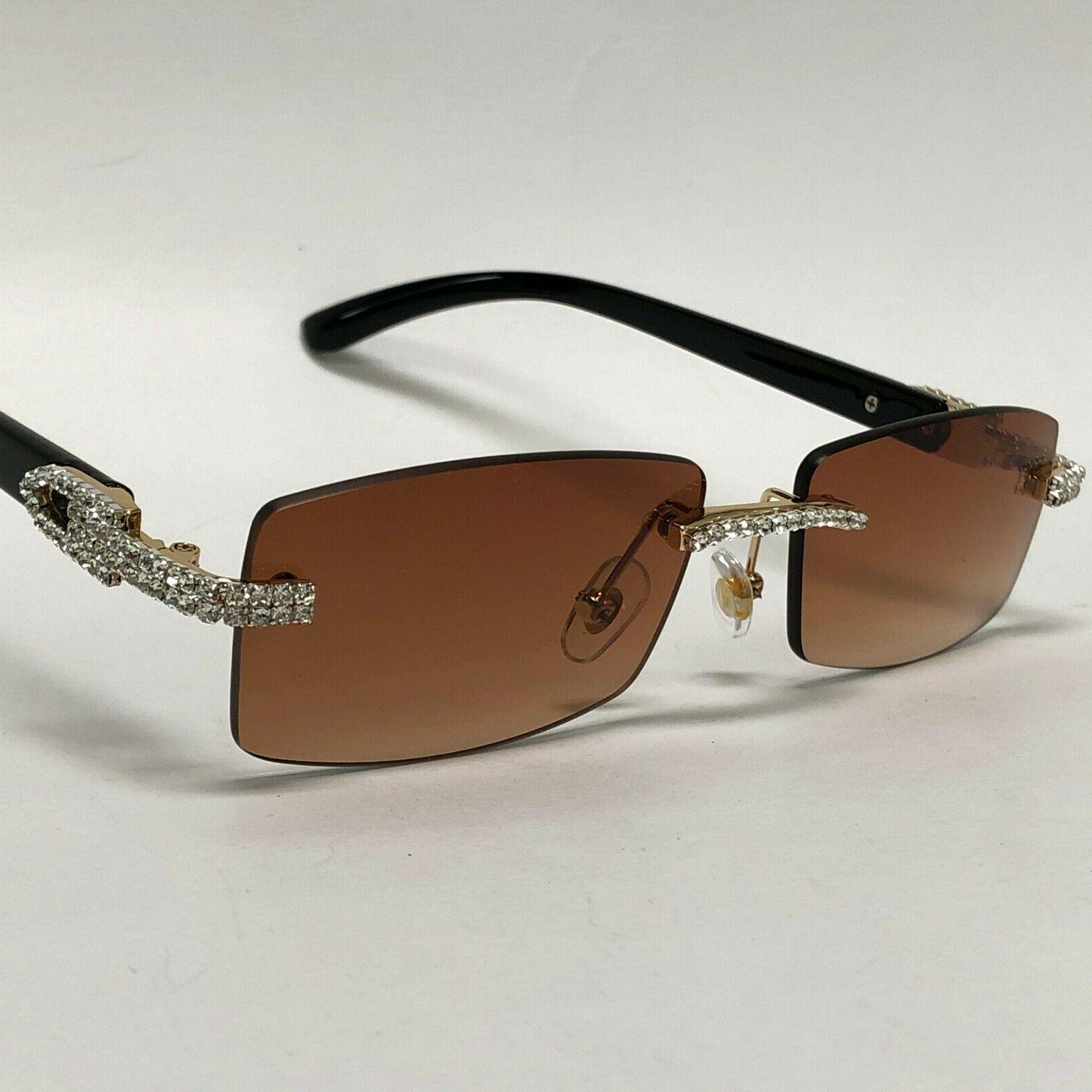 Men's Glasses Rhinestone Classy Exotic