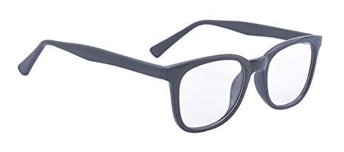 men s women s rectangle clear lens
