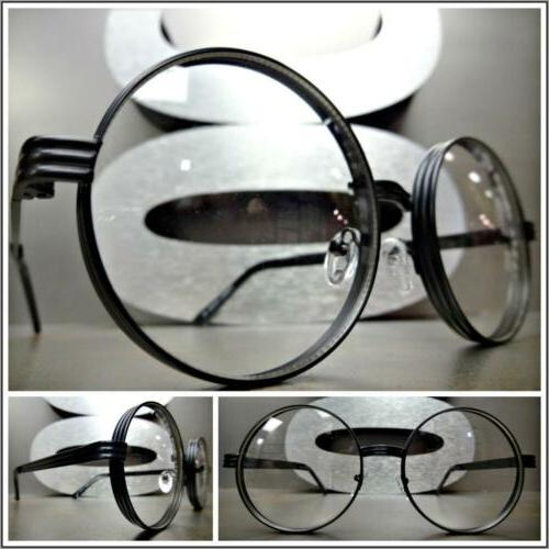 Men's Style Clear GLASSES CRYSTAL FRAME