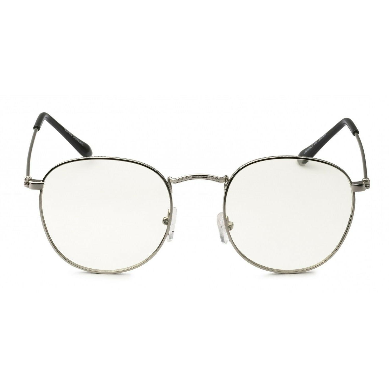 Men VINTAGE RETRO Nerd Style GLASSES Gold Frame