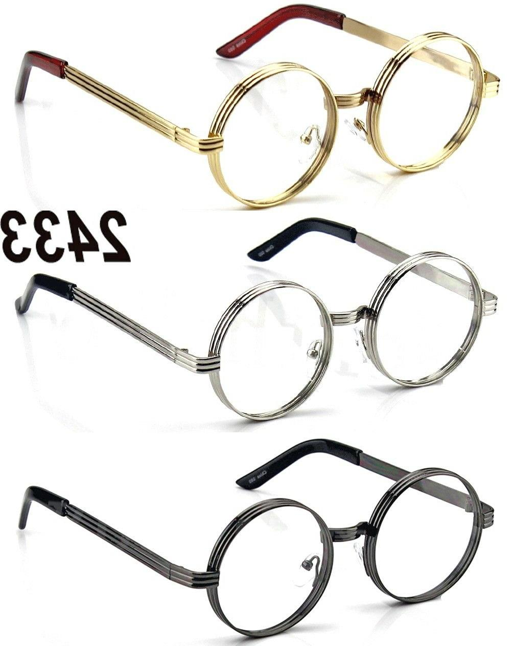 Men Women Steampunk Retro Glasses Hipster