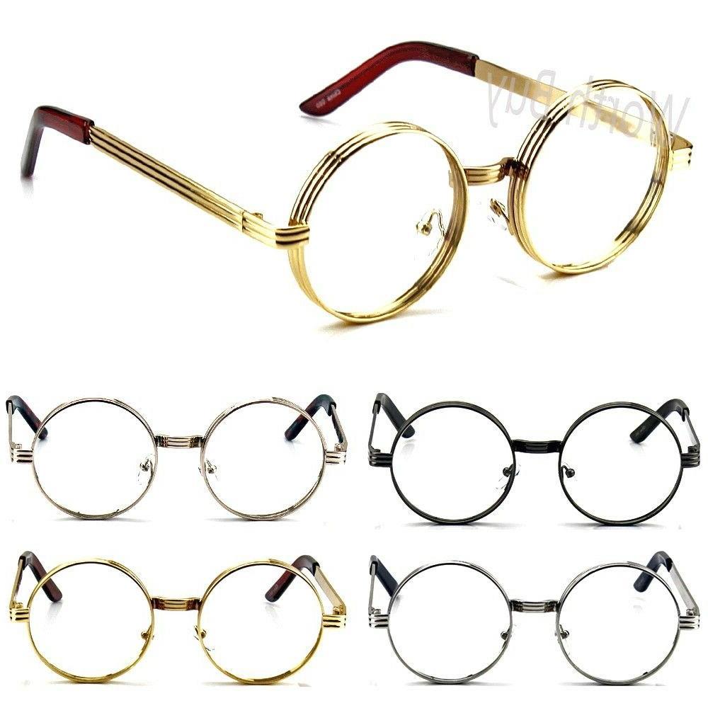 Men Clear Round Steampunk Fashion Eye