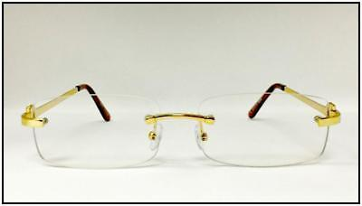Mens Sophisticated Style Clear Lens GLASSES