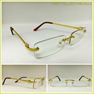 mens classy sophisticated luxury style clear lens