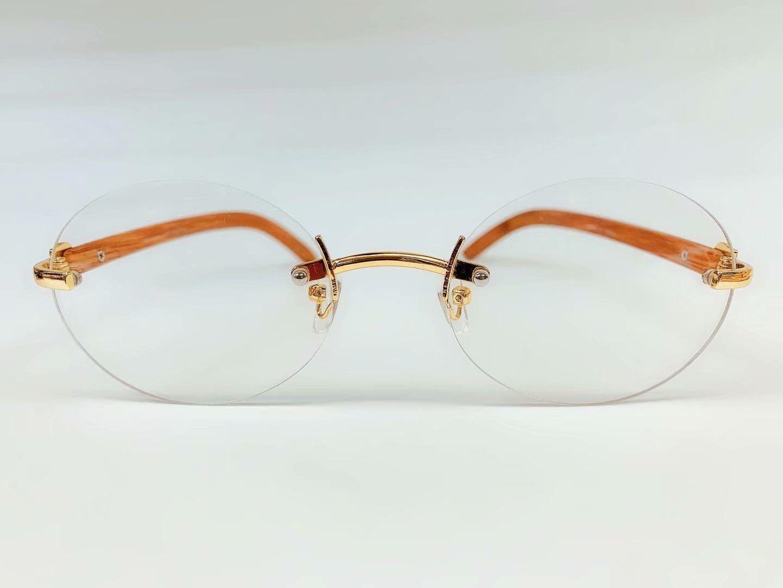 Mens Buffs Rimless Glasses
