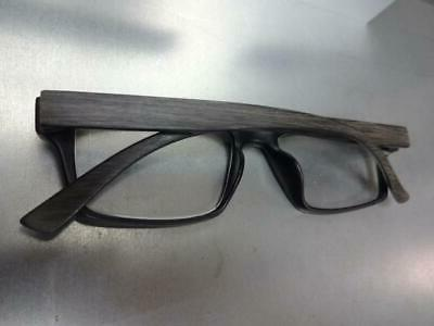 Mens Modern EYE Dark Wooden Frame