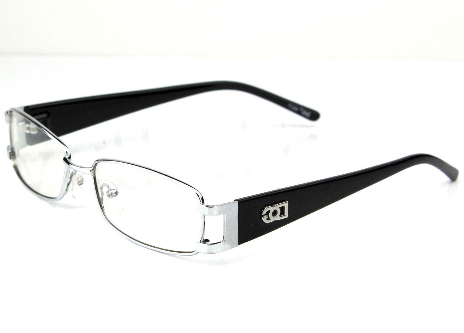 Mens Womens Clear Lens Frame Glasses Rectangular Fashion