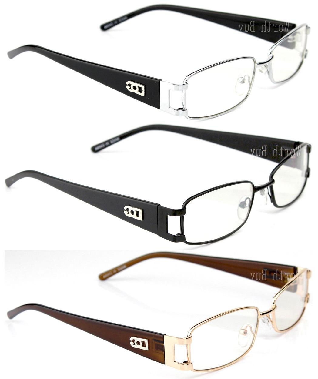 mens womens clear lens frame eye glasses