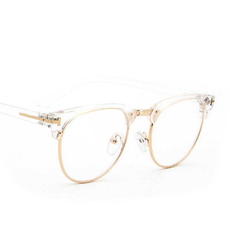 Metal Half Frame Fashion Men <font><b>Reading</b></font> <font><b>Glass</b></font> Protection Lens Eyewear