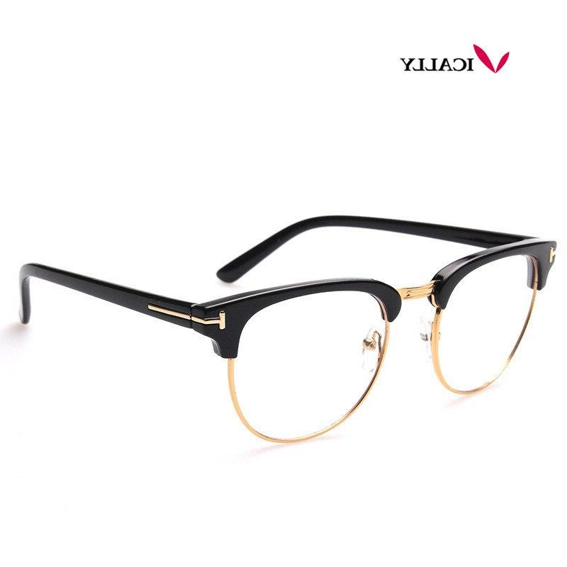 Metal Frame <font><b>Glasses</b></font> Frame Men <font><b>Glass</b></font> UV Protection Computer <font><b>glasses</b></font>