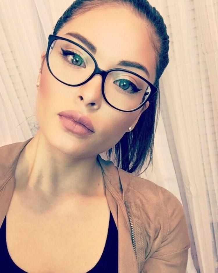 MISS CAT Clear Shadz Glasses Oversized GAFAS