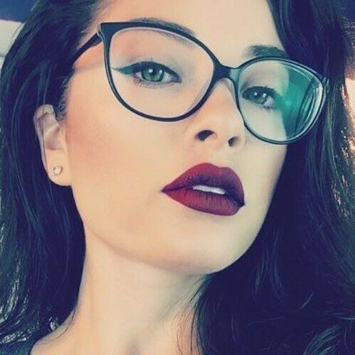 MISS FOXY Women Eyeglasses CAT EYE Clear Lens Shadz  Glasses
