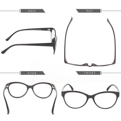 Multi Focus Progressive Glasses in 1 Cat Eye Bifocal