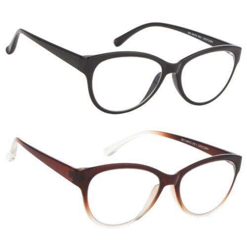 Glasses 3 Powers 1 Cat Bifocal