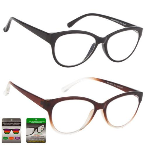 multi focus progressive reading glasses 3 powers