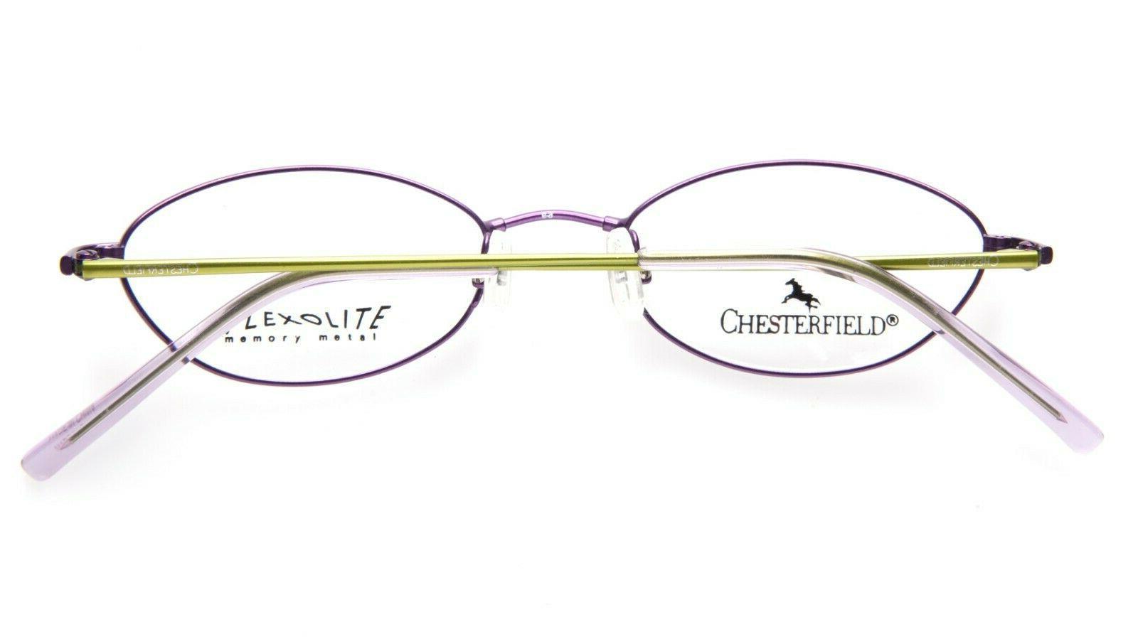 NEW Chesterfield VIOLET EYEGLASSES GLASSES FRAME 46-17-135 B26mm