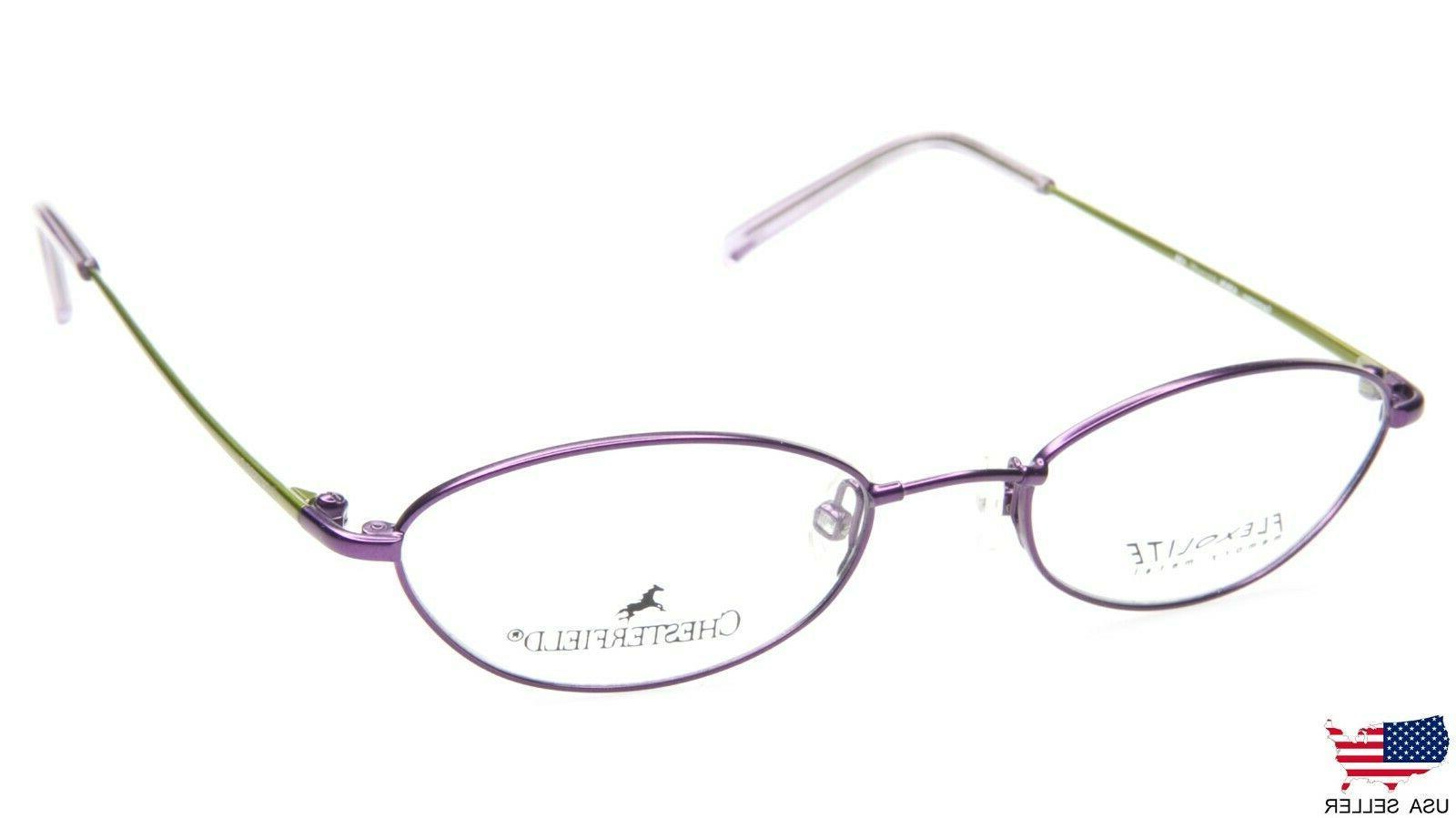 new 439 n 0su5 violet eyeglasses glasses