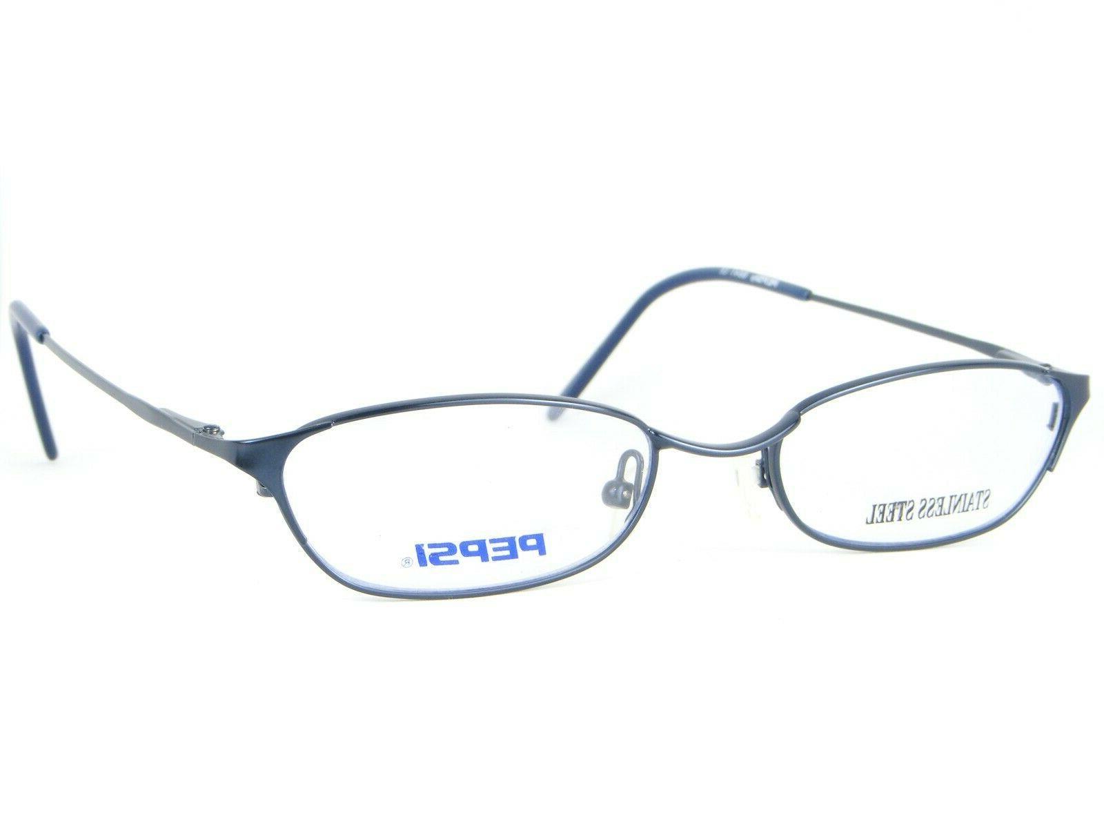 new 6641 bl blue eyeglasses glasses metal