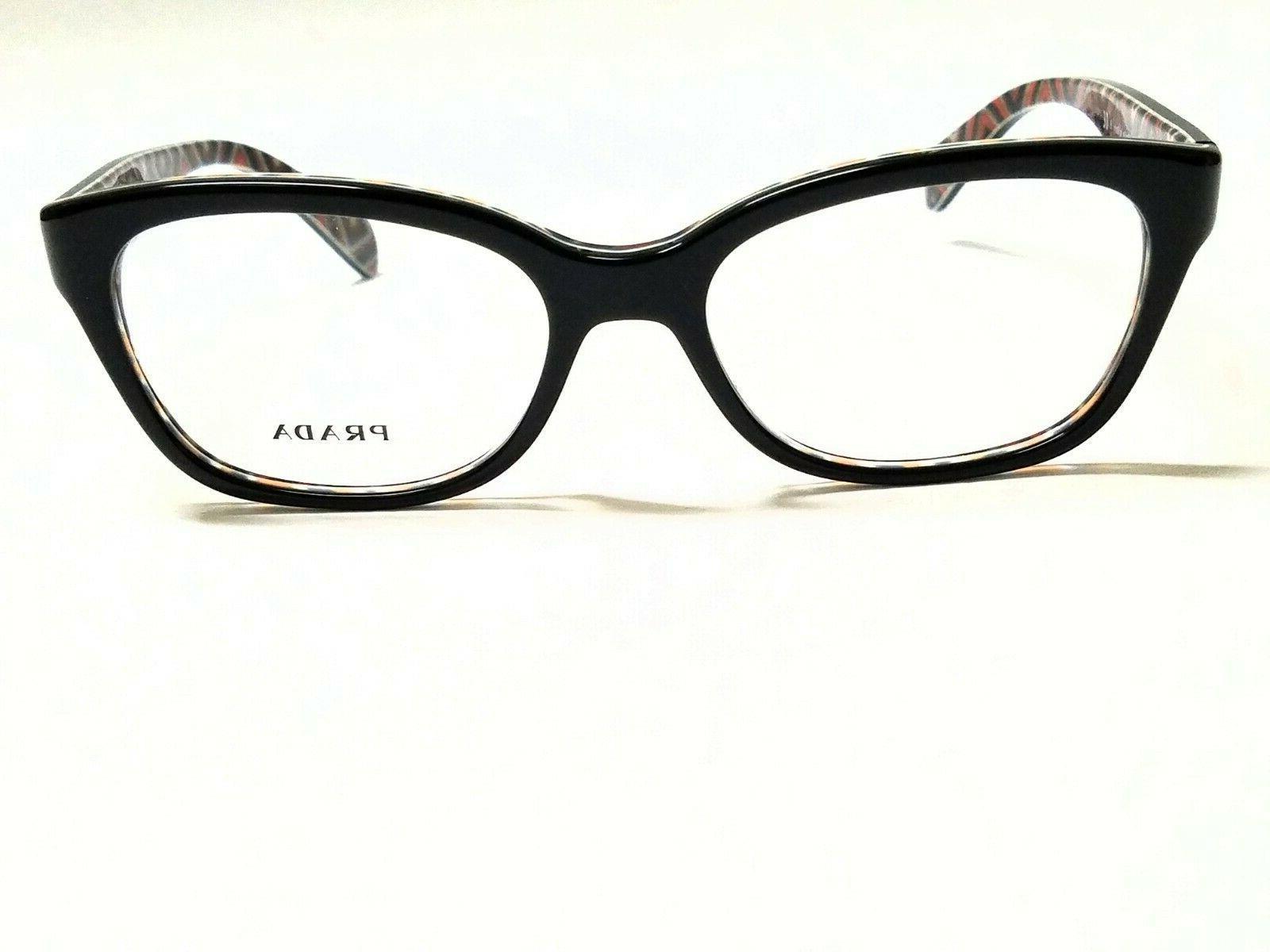 New PRADA PR20PV MAS-1O1 Eyeglasses
