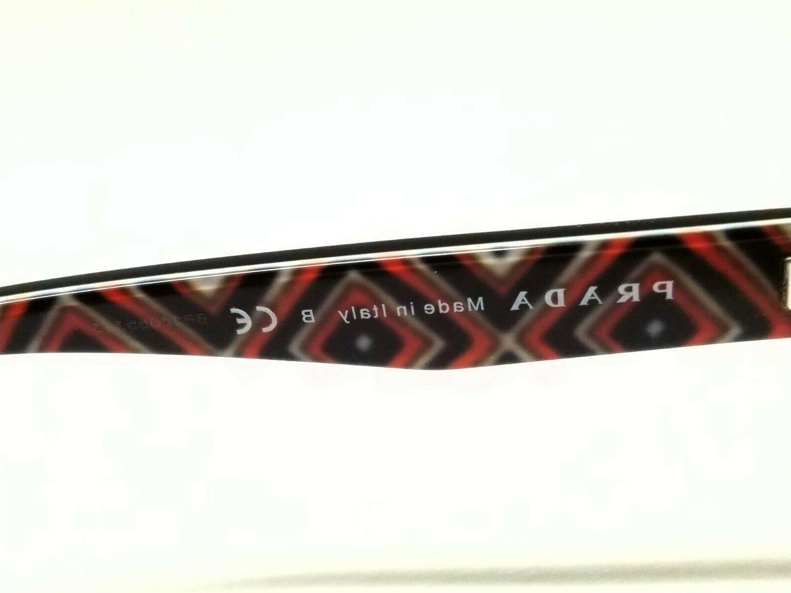 New PR20PV MAS-1O1 Black Eyeglasses
