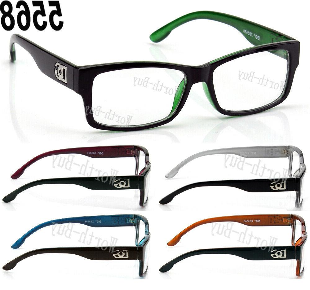 55089b3dc116 New DG Eyewear Clear Lens Eye Glasses Fashi