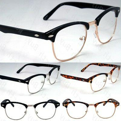 new clear lens glasses mens women nerd