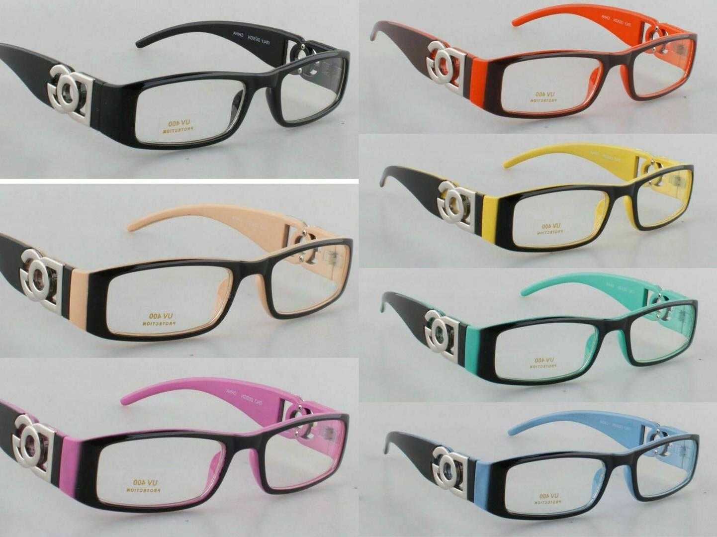 new clear lens rectangular frames glasses designer
