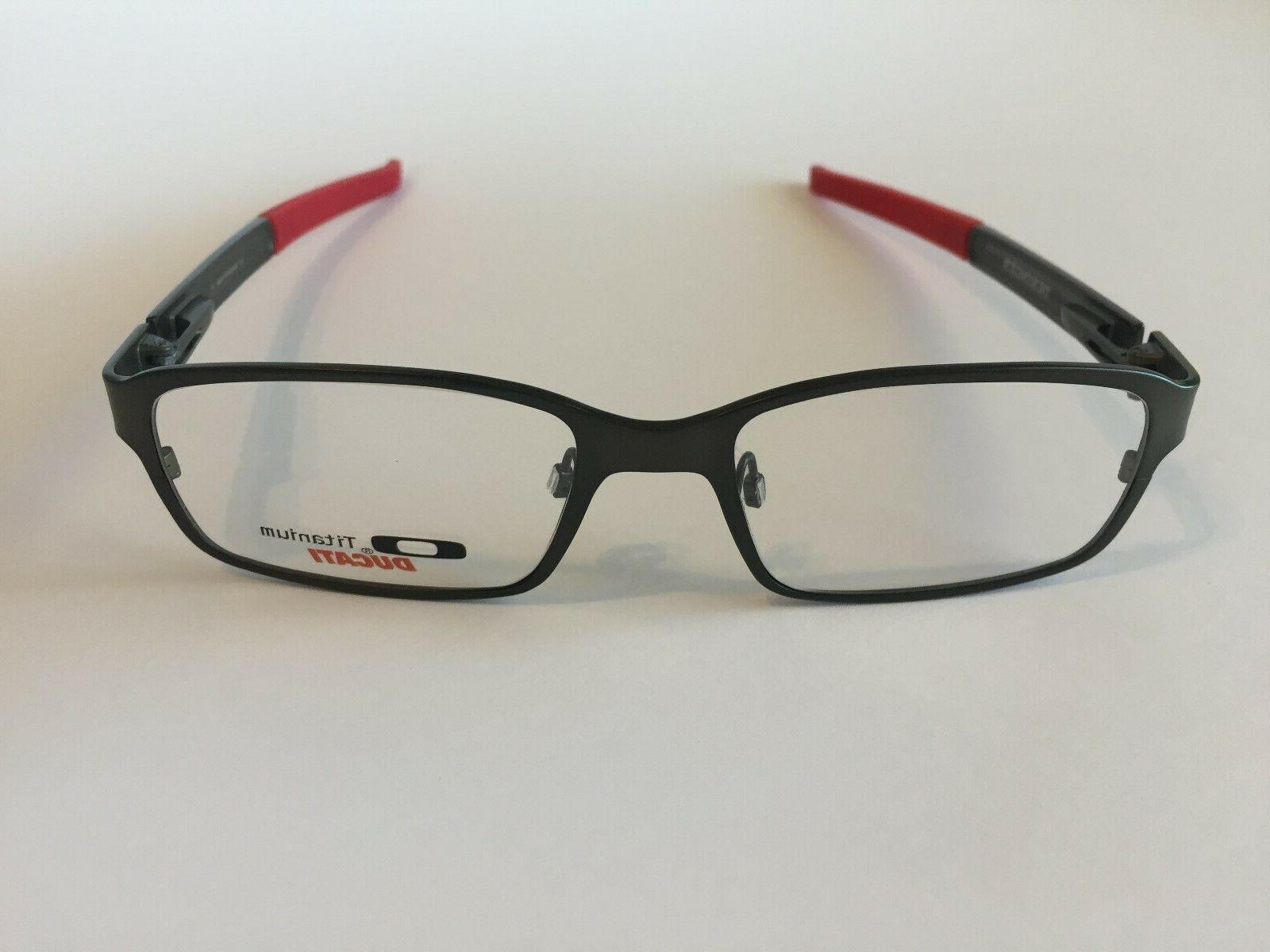 new deringer ducati pewter rx eyeglasses frames