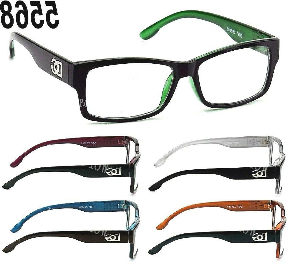 new dg clear lens square frame eye