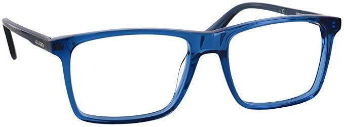 new eye glasses 6637 n 0g43 blue