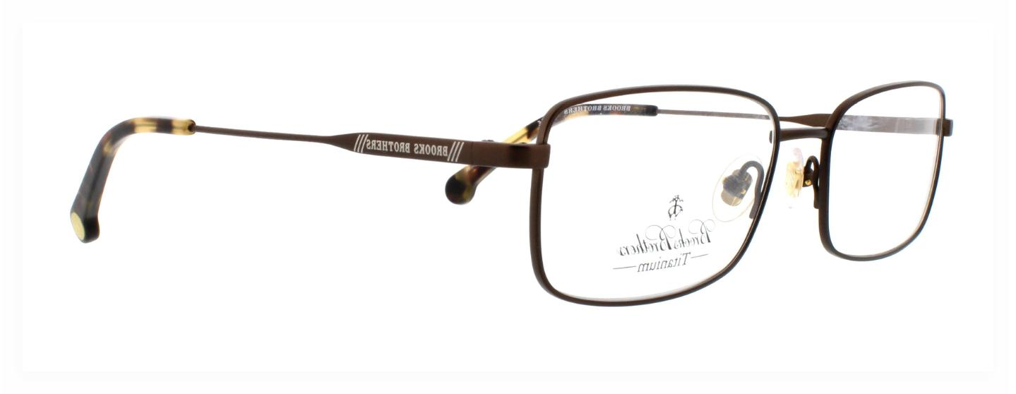 new eyeglasses bb1037t 1538t titanium brown 53
