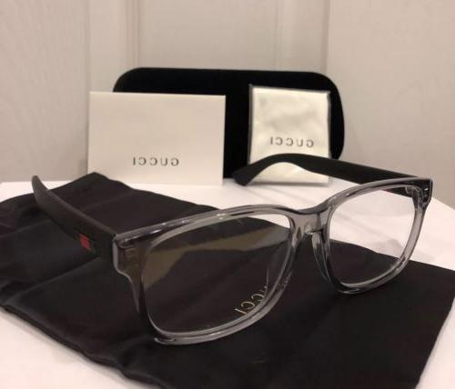 New GUCCI Clear & Frame W/ &