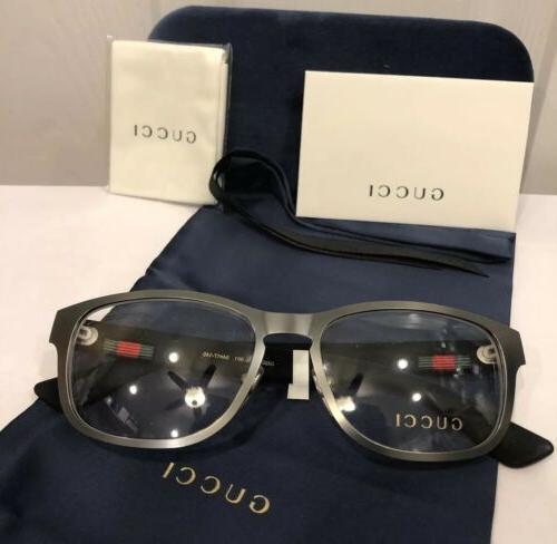 New Men's Gray Eyeglasses W/ &