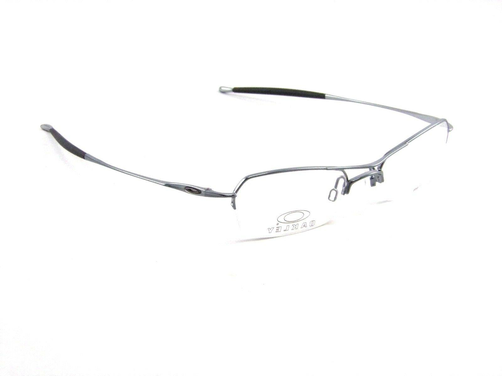 New Oakley 2.0 RX Glasses Polished Mercury Frames Sunglasses