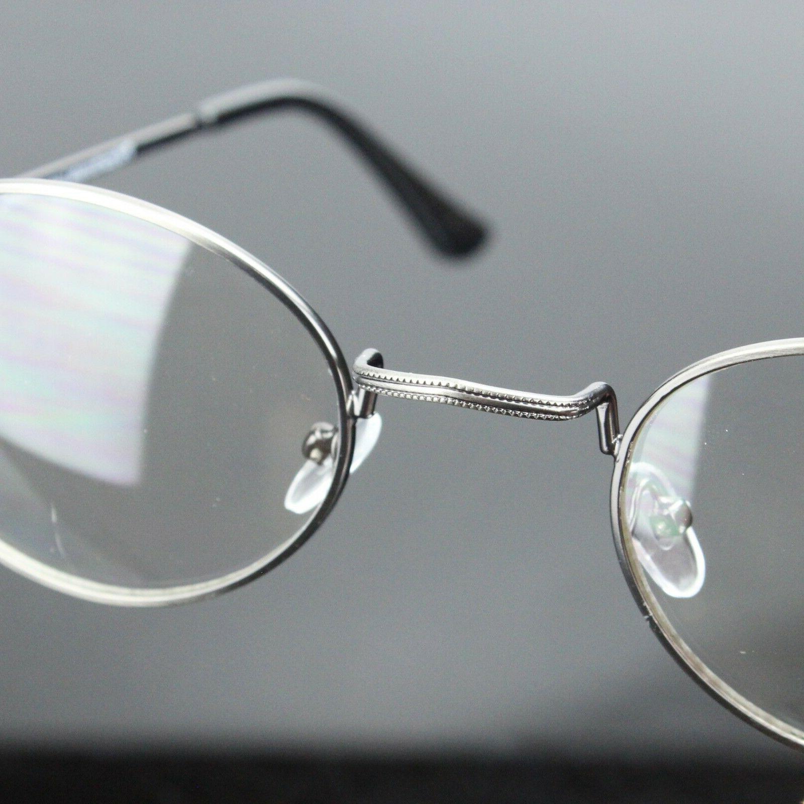 New Mens Womens Lens Glasses Retro Metal Optical