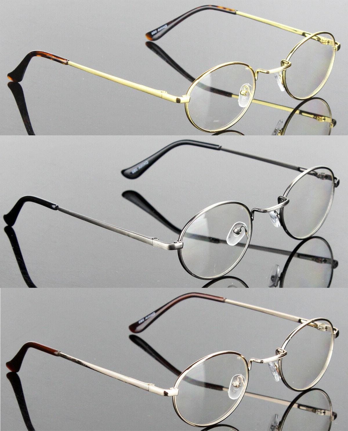 new mens womens clear lens eye glasses