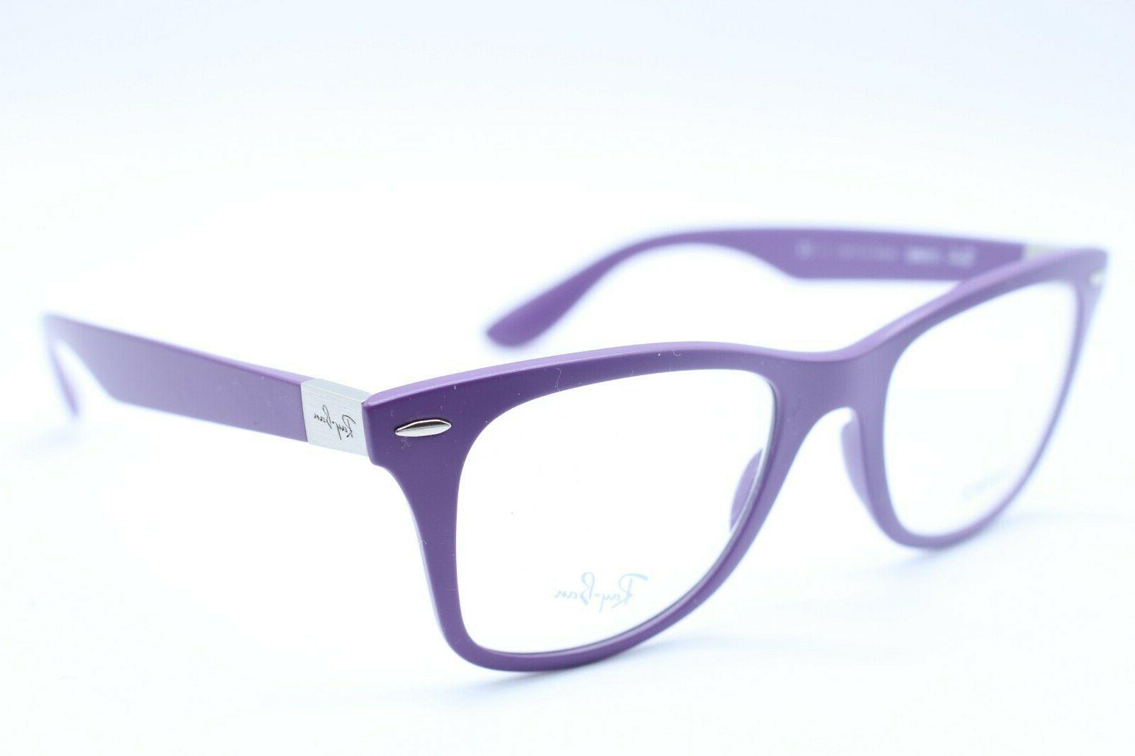 NEW RAY-BAN RB 7034 5443 PURPLE AUTHENTIC EYEGLASSES RX RB70
